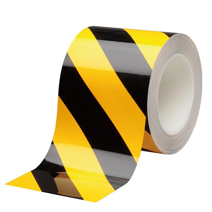 ラインテープ ベルデビバハードテープ タカハラコーポレーション 【傷つきにくい ハガレにくい】 ベルデビバハードテープ トラ柄 100mm×20m(メートル) 1巻