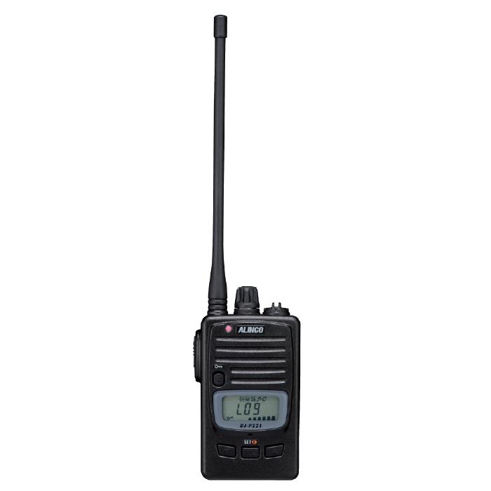 防災用品 本部用品 特定小電力無線 DJ-P221L 備蓄 災害用 無線機