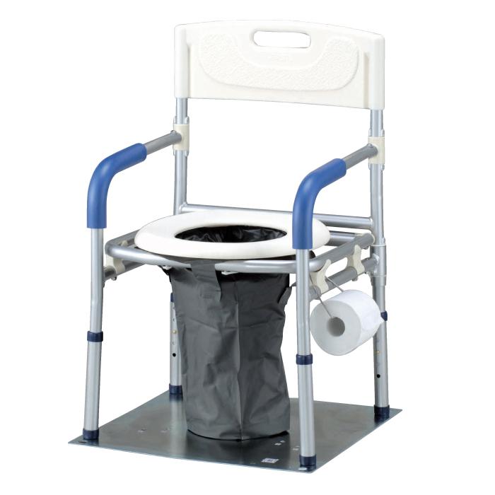 防災用品 生活用品 簡易トイレ イーストアイ マンホールトイレ 洋式タイプ VE100W (トイレのみ) ワイドタイプ 備蓄 災害用