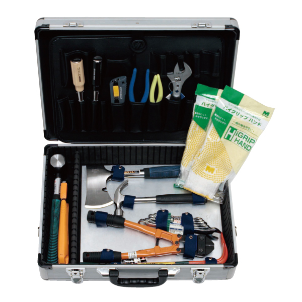防災用品 救助 救出活動用工具 アルミ救助工具セット 備蓄 災害用