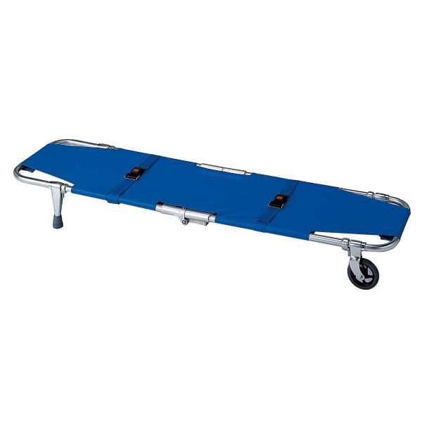 防災用品 救助 担架 移動式A式担架1型 備蓄 災害用