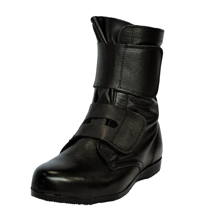 長編上靴 [ドンケル] 高所・構内用 出初め マジック式 ブラック 23.5~28.0(EEE)