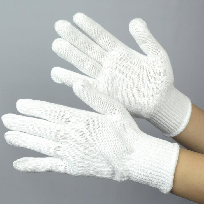ハイゲージ使用でふんわりやわらか 贈り物 綿100%のソフトな感触 グローブ 作業手袋 作業用手袋 布施商店 《綿100%》 激安価格と即納で通信販売 やわらか軍手 COVER 白 S L WORK FT-3101-1P M