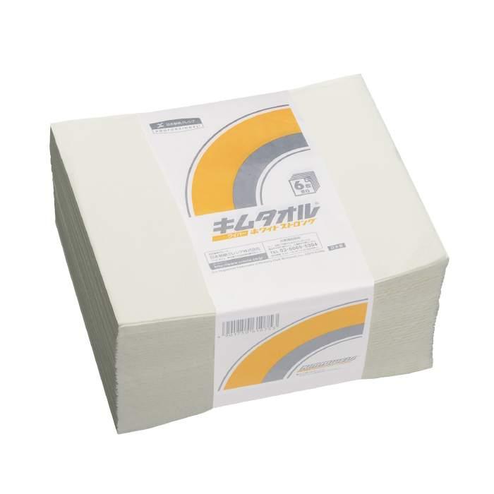 吸水 紙製ワイパー 日本製紙クレシア ワイパー キムタオル(R) ホワイト 6プライ 4つ折り ストロング