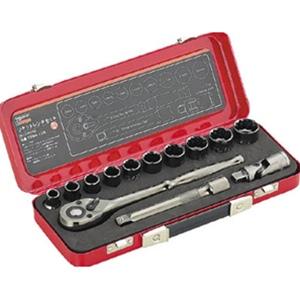トラスコ中山 TRUSCO 作業用品 手作業工具 ソケットレンチ ソケットレンチセット(差 TSW413S