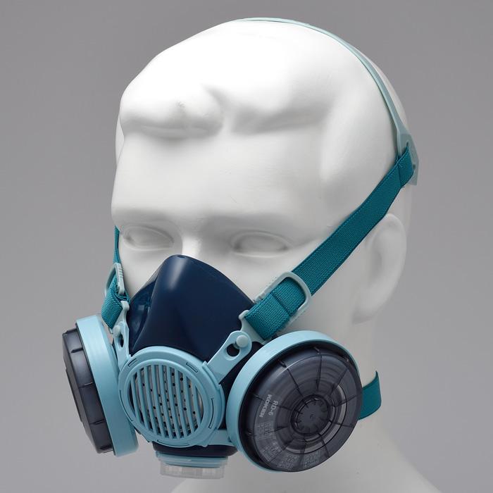防塵マスク 興研 KOKEN フィルタ取替式防じんマスク 7191DK‐XRB シリコン 国家検定合格