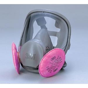 防塵マスク [スリーエム 3M] フィルタ取替式防じんマスク 6000F/2091‐RL3 シリコン 国家検定合格