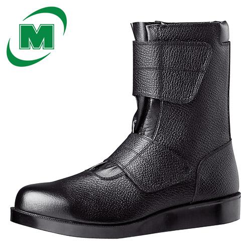 熱いアスファルトの上でも靴内に熱が伝わりにくく アスファルトが足の裏にくっつきにくい 跡も残りにくい底 激安超特価 JIS T8101 C1 L 商舗 BO 舗装工事用安全靴 ベルクロ EEE 23.5~28.0 ミドリ安全 日本製 VR235 ブラック マジックタイプ