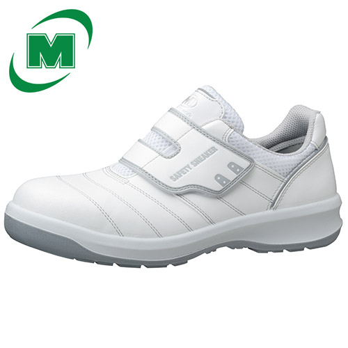 【大きいサイズ】安全靴 スニーカー ミドリ安全 男女兼用 ワイド樹脂先芯 マジック G3595 ホワイト 29.0・30.0(EEE) 日本製