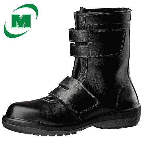 安全靴 セーフティーブーツ ミドリ安全 新ラバー2層底 安全靴 長編上靴 ラバーテック RT735 ブラック 日本製