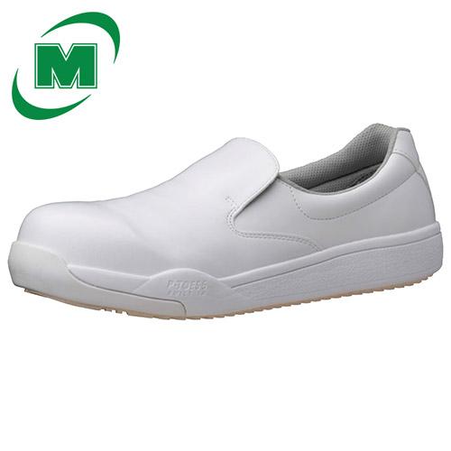 ミドリ安全 ハイグリップ作業靴 プロテクトウズ5 PHS-600 【先芯および先芯内蔵靴:プロテクトウズ5先芯で小指まで保護します。】【滑りにくさ最高レベル!】コックシューズ 厨房シューズ ホワイト