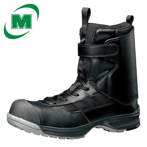 ミドリ安全 安全作業靴 安全 快適 運輸・物流・倉庫・カゴ車作業に アキレス腱を守るアンクルガード付き作業靴  スニーカー ワークプラス YMP-05