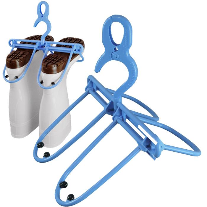 長靴の乾きが早くなる長ぐつハンガー 水切りと乾燥