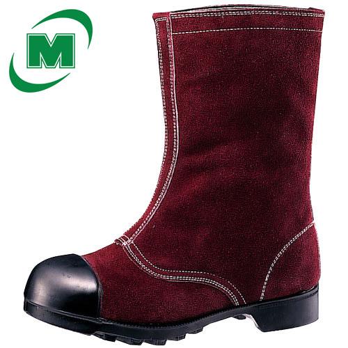 安全靴 ミドリ安全 【一種耐熱靴】 熱場作業用安全靴  W344 ブラウン 23.5~27.0・28.0(EEE)【ランキングにランクイン】