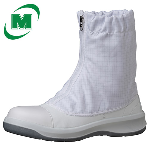【ランキング1位】 静電安全靴 ミドリ安全 足ブレしない、安定感/3Dフットベッド クリーンルーム用 GCR1200 フルCAP ハーフ [静電靴 静電安全靴 静電気防止 静電気除去 帯電防止]