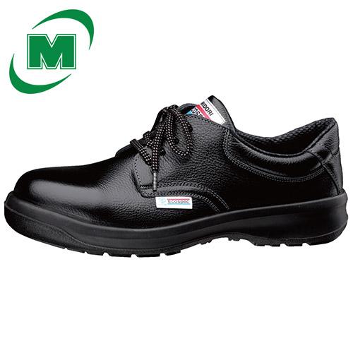 【大きいサイズ】静電安全靴 ミドリ安全 エコスペック ESG3210 eco ブラック [静電靴 静電安全靴 静電気防止 静電気除去 帯電防止]