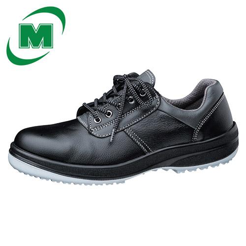 【大きいサイズ】滑りにくい靴 ミドリ安全 安全靴 超耐滑底 ワイド樹脂先芯 ハイグリップセフティ HGS310 ブラック 大