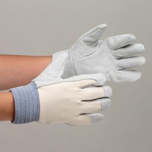 革手袋 12双入 チェリー産業 【ムレ防止】 グローブ 作業手袋 作業用手袋 MT-104 甲メリヤス付 国産品 12双入 長さ23cm