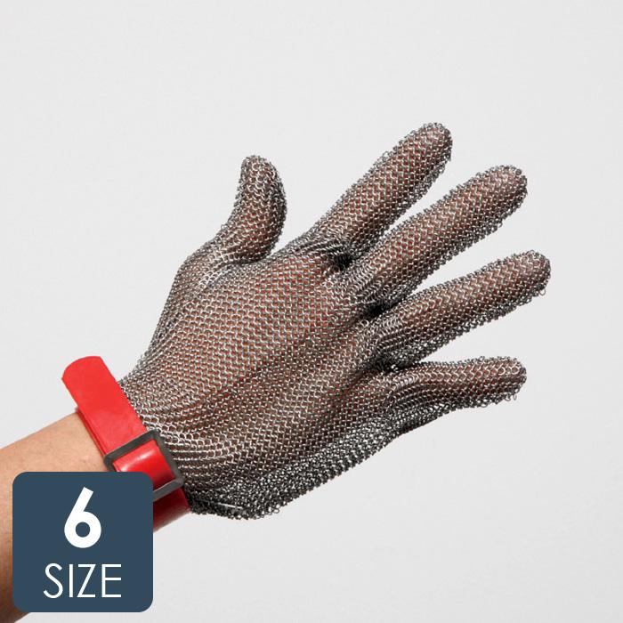 【ランキング1位】 耐切創性手袋 鎖手袋 MST-050(M)PU 5本指 PUマグネット 【ステンレス製切創防止手袋 左右兼用】 クサリ グローブ くさり 作業手袋 【3S/SS/S/M/L/LL】