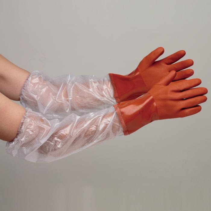 塩化ビニール製手袋 抗菌・防臭加工 NO.652 アームソフト グローブ 作業手袋 作業用手袋 1袋/10双 [M/L/LL]