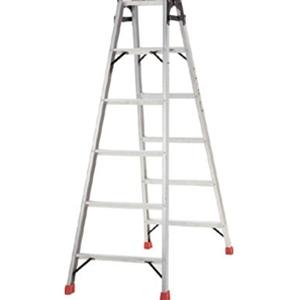 トラスコ中山 TRUSCO 工事用品 はしご・脚立 脚立 プロ用梯子兼用脚立150cm TPRK150