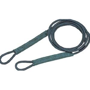 トラスコ中山 TRUSCO 物流保管用品 吊りクランプ・吊りベルト スリングベルト セフティパワーロープ径φ9×長さ2m金具無 SP92