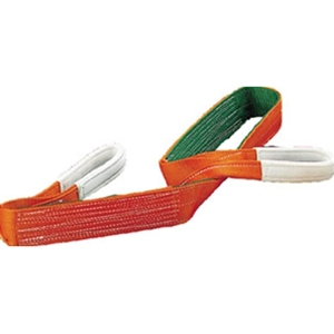 トラスコ中山 TRUSCO 物流保管用品 吊りクランプ・吊りベルト スリングベルト ベルトスリング 100mm×2.0m G10020