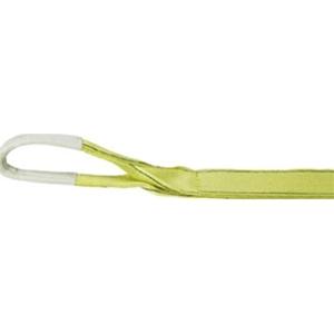 トラスコ中山 TRUSCO 物流保管用品 吊りクランプ・吊りベルト スリングベルト ポリエステルスリング 100mmX5.0m TPS10050