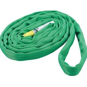 トラスコ中山 TRUSCO 物流保管用品 吊りクランプ・吊りベルト スリングベルト ラウンドスリング(JIS規格品) 2.0t×5.0m TRJ2050