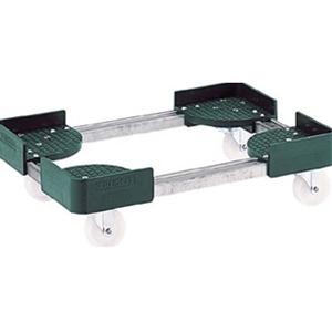 トラスコ中山 TRUSCO 物流保管用品 運搬台車 コンテナ台車 伸縮式コンテナ台車300x400 FCD3040