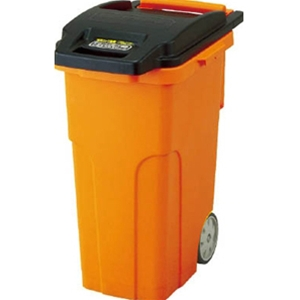 トラスコ中山 TRUSCO オフィス住設用品 清掃用品 ゴミ箱 キャスターペール 90L 4輪 TCP90C4