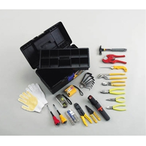 トラスコ中山 TRUSCO 作業用品 手作業工具 工具セット 電設工具セット TRD18
