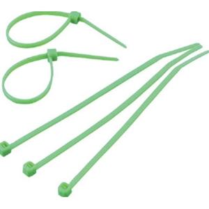 トラスコ中山 TRUSCO 作業用品 梱包結束用品 結束バンド ケーブルタイ幅8.0mmX長さ450mm最大結束φ128緑 緑 TRCVR450GN