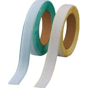 トラスコ中山 TRUSCO 作業用品 梱包結束用品 結束バンド マジックテープ 弱粘着タイプ 100mm×5m 白 TPD1005MTSW