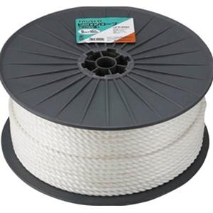 トラスコ中山 TRUSCO 作業用品 梱包結束用品 ロープ ビニロンロープ12mm×100mボビン巻 R12100