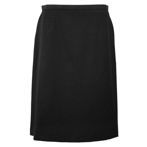 レディース スカート オフィスユニフォーム 事務服 [ボンマックス] BONMAX Excella Aラインスカート AS2258-16 ブラック 5~19号 仕事着