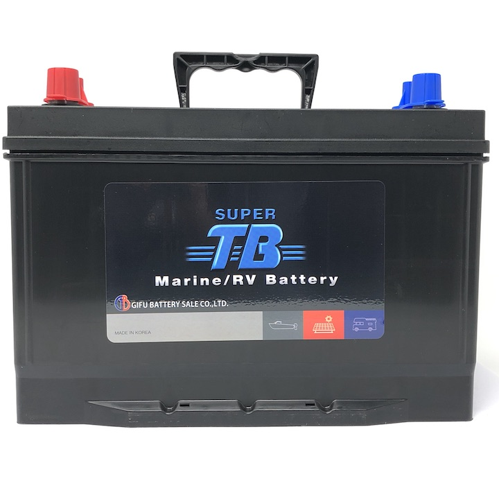 MR27 SUPER TB バッテリー マリン用バッテリー(RVバッテリー) 岐阜バッテリー 送料無料