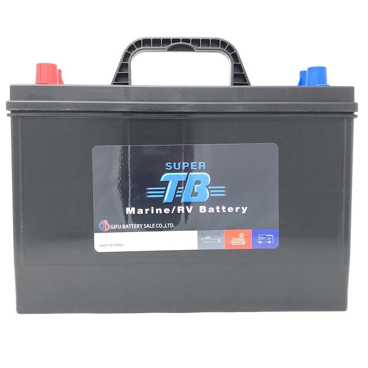 MR31 SUPER TB バッテリー マリン用バッテリー(RVバッテリー) 岐阜バッテリー 送料無料