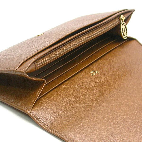 緑屋質屋 カルティエ マルチェロドゥカルティエ 財布 L3000815 キャメル8vNwmn0