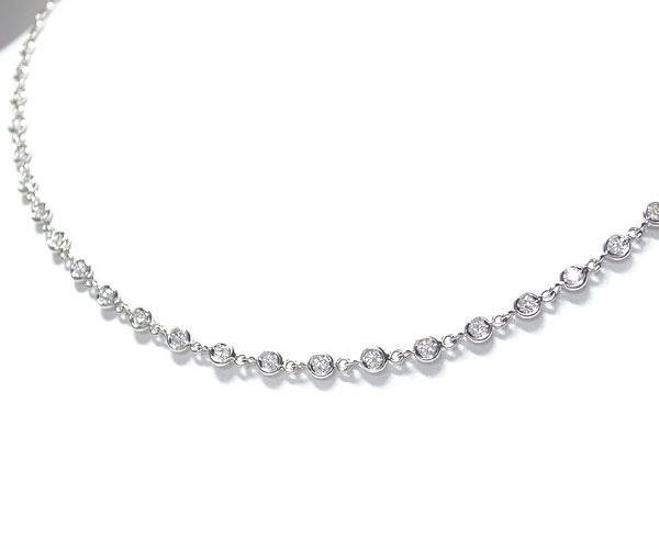 【緑屋質屋】VAID(ヴェイド) ダイヤモンドネックレス 1.68ct K18WG【中古】【smtb-s】