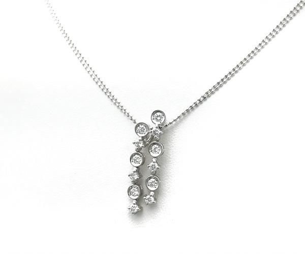 【緑屋質屋】DIAMOND LINE(ダイヤモンドライン) ダイヤモンドネックレス 0.50ct【中古】