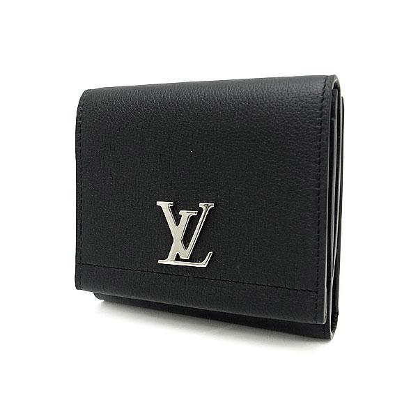 【緑屋質屋】ルイヴィトン M64309 財布 ポルトフォイユ・ロックミー2 コンパクト【中古】