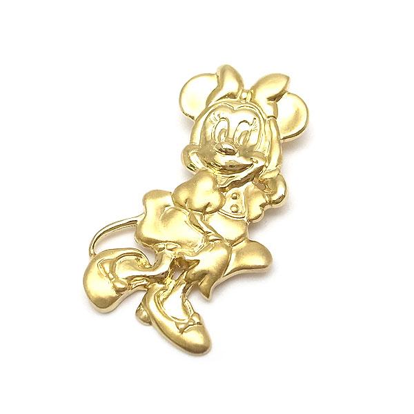送料無料 代引き手数料無料 緑屋質屋 特選ジュエリー ウォルト 18%OFF ディズニー 激安 ペンダントヘッド Disney 中古 K18YG Walt ミニーマウス