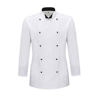 ブリティッシュ オーガニック シェフジャケット☆Avangard Chef Coat #AJ1529☆ユニフォームデザイナー専門ブランド a.mont☆飲食店・ホテル・サービスユニフォーム(制服)接客・厨房・コックコート・エプロンなどの専門店です♪ ☆a-montジャケット