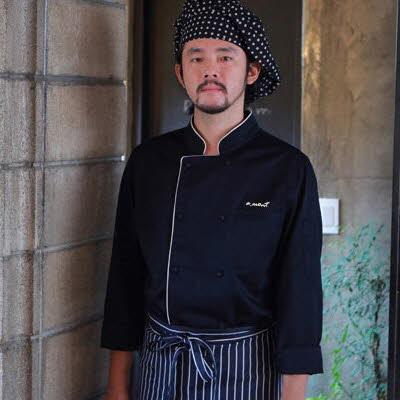 ブリティッシュ オーガニック シェフジャケット☆Bamboo moisture Chef coat (Navy) #AJ1583☆ユニフォームデザイナー専門ブランド a.mont☆飲食店・ホテル・サービスユニフォーム(制服)接客・厨房・コックコート・エプロンなどの専門店です♪ ☆a-montジャケット