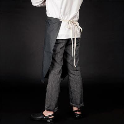 ブリティッシュ オーガニック シェフシャツ☆marco linen chef pants deep grey #AP1663☆ユニフォームデザイナー専門ブランド a.mont☆飲食店・ホテル・サービスユニフォーム(制服)接客・厨房・コックコート・エプロンなどの専門店です♪ ☆a-montパンツ
