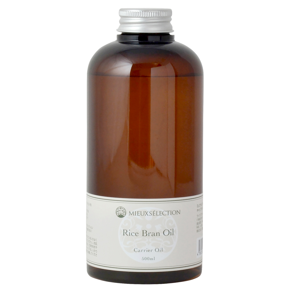 遺伝子組み換えのない国産米ぬか原料から抽出される安心安全なオイルです オレイン酸 リノール酸がバランスよく含まれ 植物ステロールやビタミンEも豊富に含まれています キャリアオイル 日本最大級の品揃え ライスブランオイル お得クーポン発行中 500ml ボディオイル 100% 米ぬか ベースオイル マッサージオイル