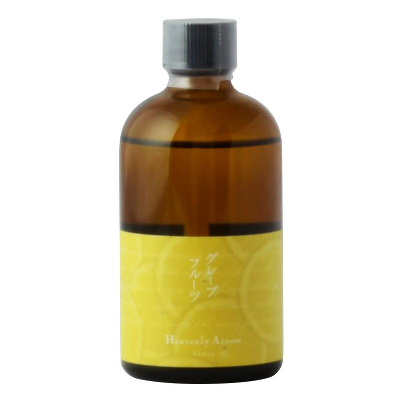 もぎたてのグレープフルーツのジューシーな香りと 少しビターなピール感が気持ちをリフレッシュさせてくれます 数量限定 Heavenly Aroom フレグランスリフィル グレープフルーツ アロマディフューザー 100ml 価格 芳香剤 詰替用 葡萄柚 ルームフレグランス