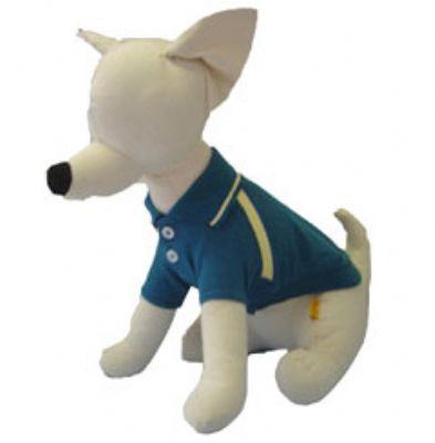 1万円以上のお買い上げで送料無料 永遠の定番モデル Puppe 25%OFF Love Teal Polo Shirt犬用ポロシャツ