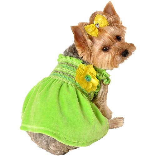 1万円以上のお買い上げで送料無料 セールSALE%OFF 犬用コサージュ付きサマードレス 人気ブランド多数対象